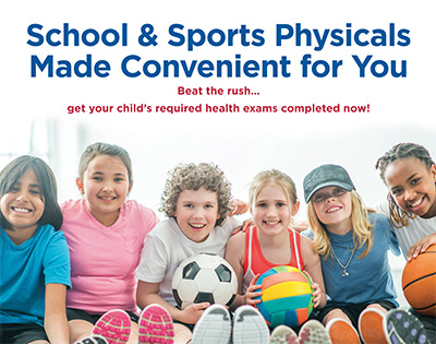 VNA offering school, sports physicals
